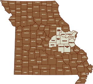 Missouri Counties Served